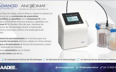 Anoxomat III – Sistema de Frascos Anaeróbicos