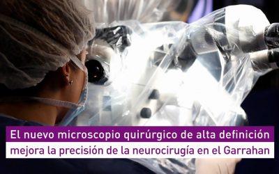 AADEE se enorgullece de haber sido parte de la instalación del primer Microscopio de Alta Definición en el Hospital Garrahan
