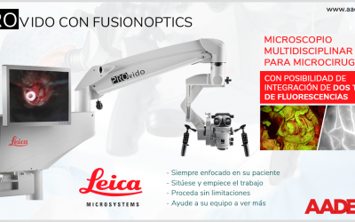 PROvido con FusionOptics y dos fluorescencias. Nuevo microscopio multidisciplinar para microcirugía. SIMPLEMENTE, VEA MÁS